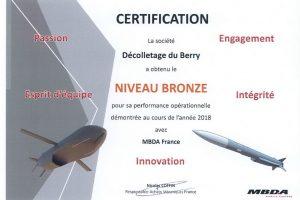 Certificat mdba 2018