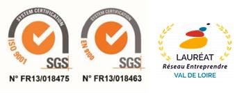 decolletage du Berry usinage de précision tournage fraisage certifications iso9001 en9100